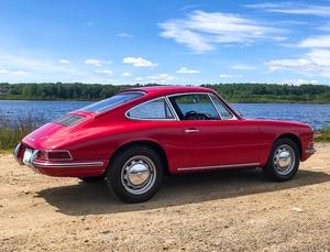 DT: 1966 Porsche 912 Coupe Polo Red