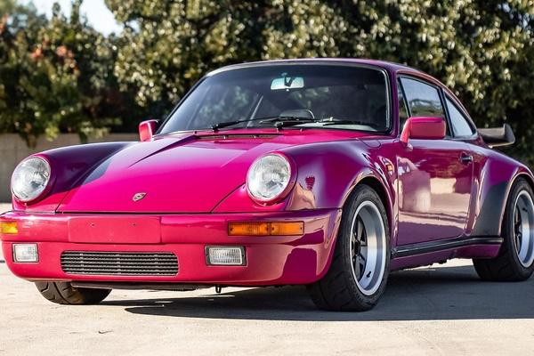 1984 Porsche 911 M491 Rubystone