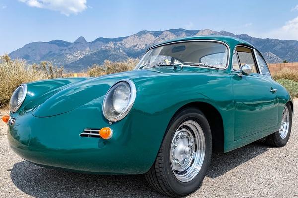 1961 Porsche 356 Outlaw-Style Coupe