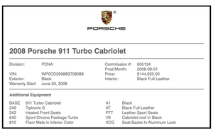 24K-Mile 2008 Porsche 997.1 Turbo Cabriolet