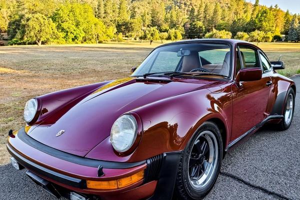 1978 Porsche 911 Turbo PTS Brocade Red