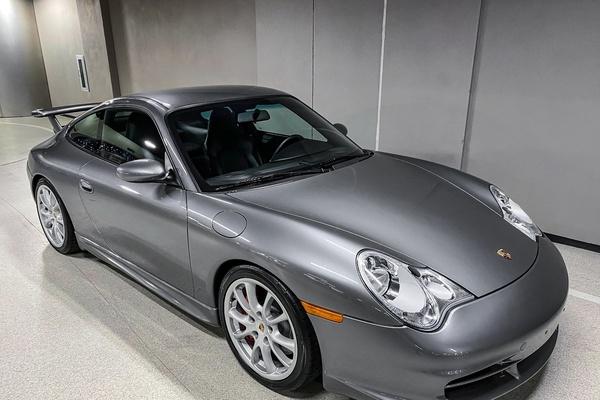 12K-Mile 2004 Porsche 996 GT3