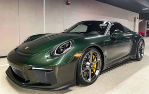 2019 Porsche 991.2 Speedster PTS Oak Green Metallic