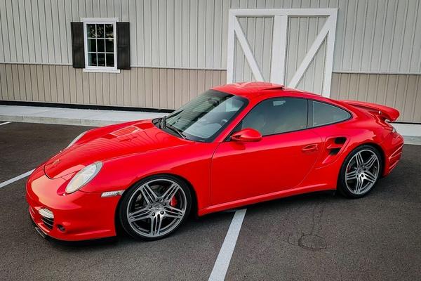 2007 Porsche 997 Turbo Coupe