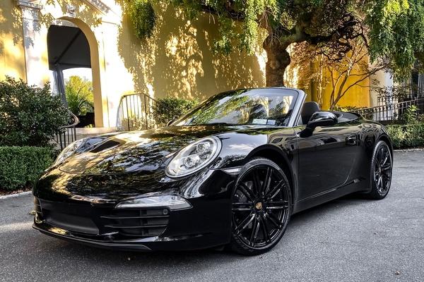 2016 Porsche 991 Cabriolet Black Edition
