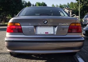DT: 42K-Mile 1997 BMW 540i Aspen Silver