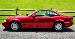 1997 Mercedes-Benz SL500 V8 W/ Panoramic Roof