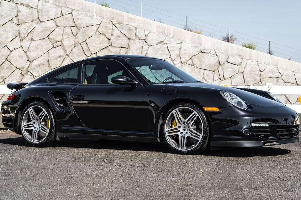 1-Owner 2008 Porsche 997 Turbo 6-speed