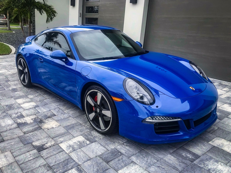 2016 Porsche 991 Carrera GTS 60th Anniversary Club Coupe