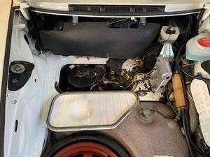 DT: 1986 Porsche 911 M491 Cab 3.2L Turbo Slant Nose