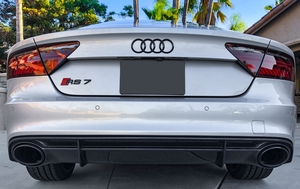 2016 Audi RS7 Prism Silver Crystal