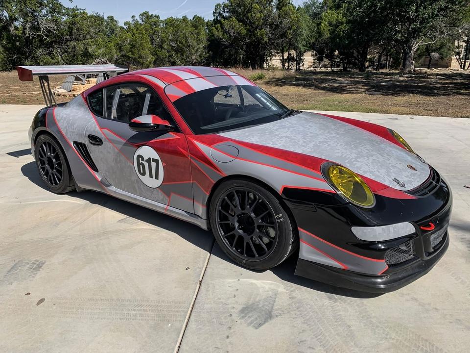 2006 Porsche 987 Cayman S Track Car