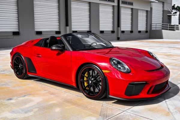 14-Mile 2019 Porsche 991 Speedster