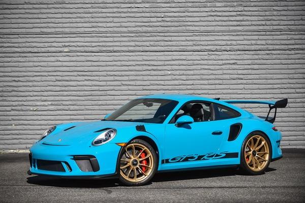 2019 Porsche 991.2 GT3 RS Miami Blue