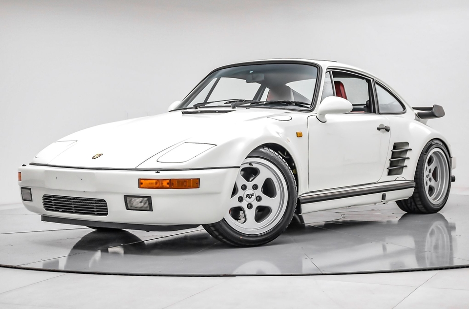 12K-Mile 1988 Porsche 930 Slantnose RUF