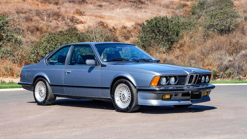 1985 BMW E24 M635CSi Euro-Spec