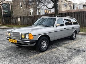 DT: Euro 1984 Mercedes-Benz W123 300TD Wagon