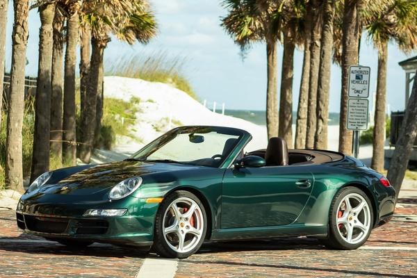 2006 Porsche 997 Carrera S Cabriolet Forest Green Metallic