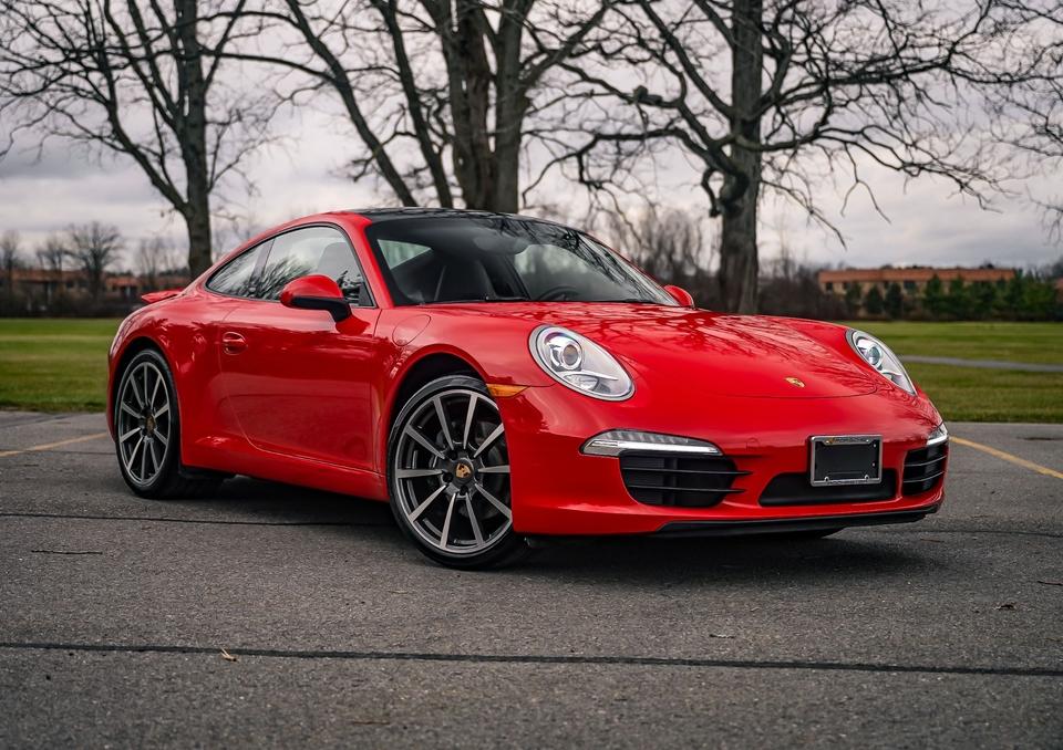 14K-Mile 2014 Porsche 991 Carrera Coupe