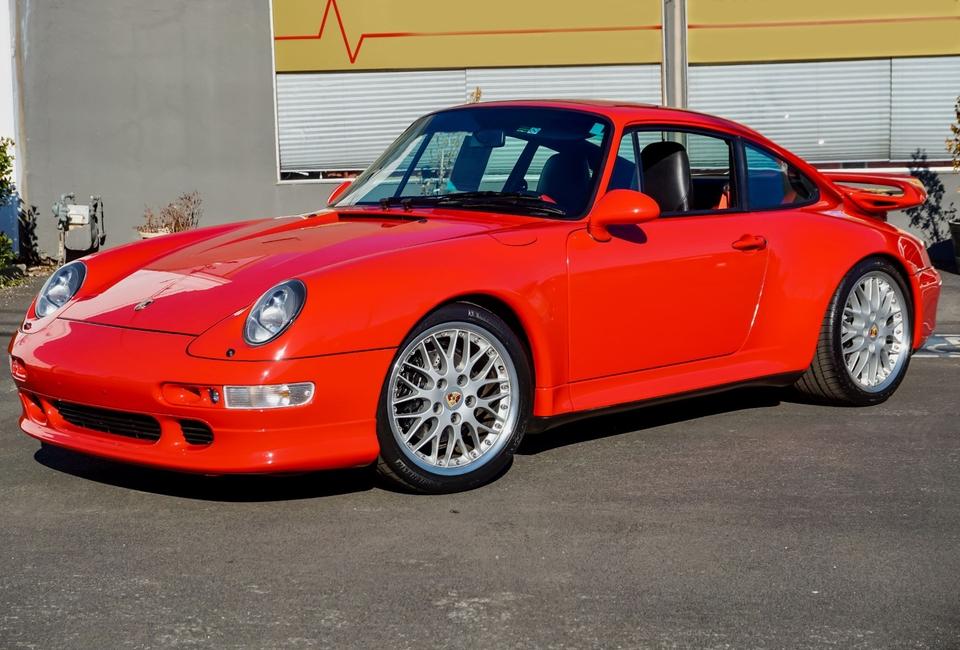 15K-Mile 1998 Porsche 993 Carrera 2S Aerokit