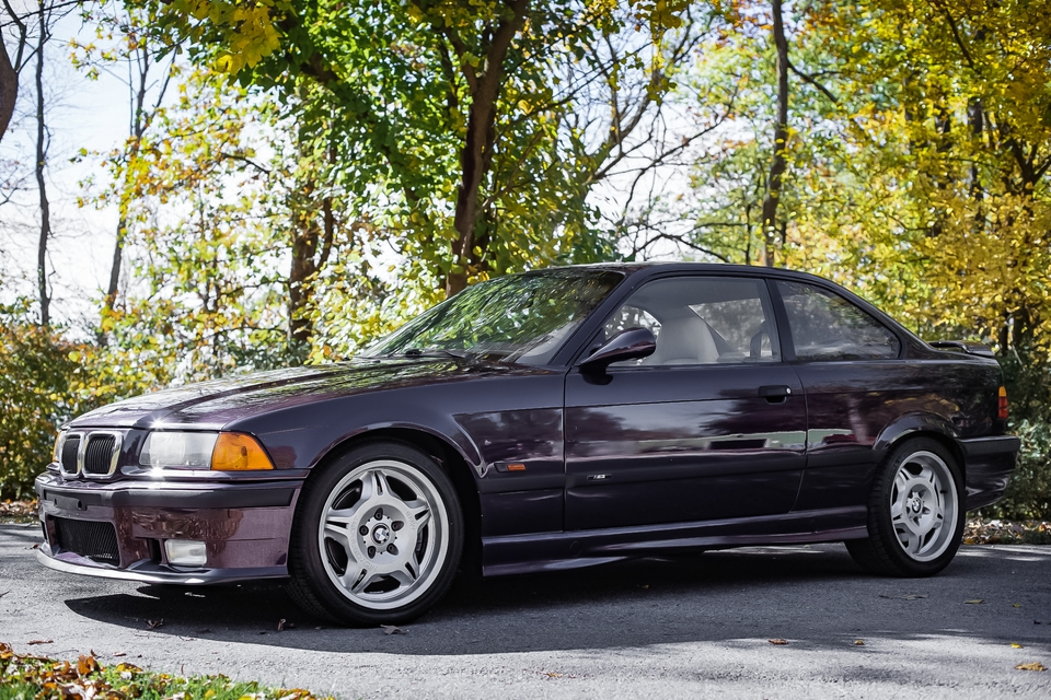 1995 BMW E36 M3 Supercharged Daytona Violet