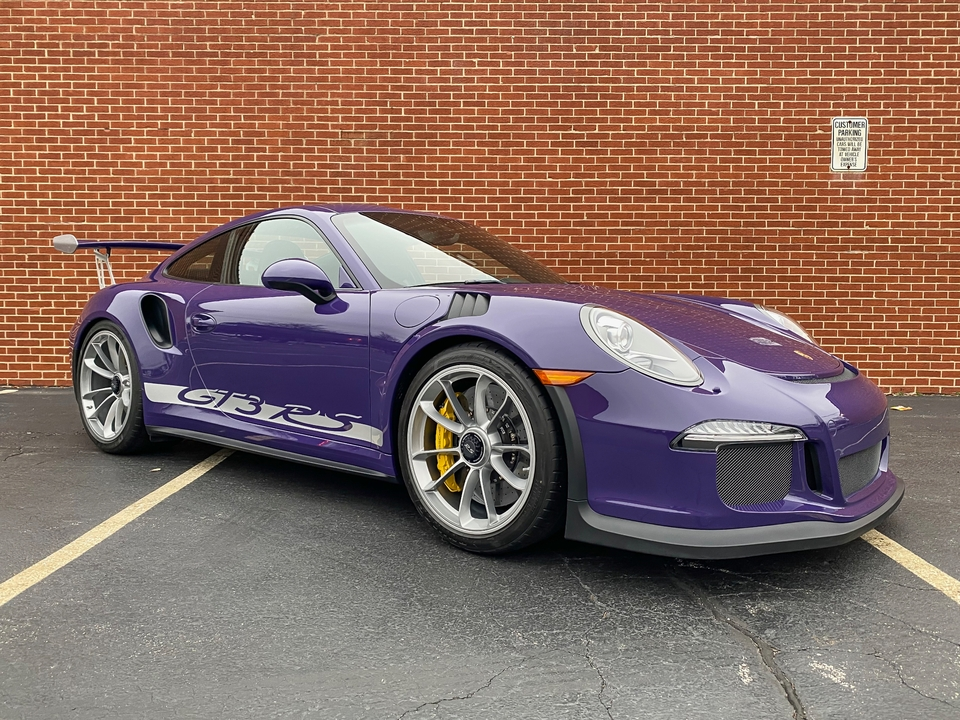 574-Mile 2016 Porsche 991 GT3 RS Custom Tailoring