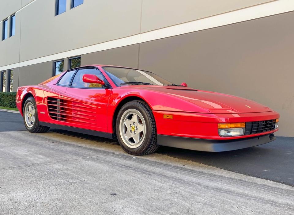 DT-Direct 166-Mile 1990 Ferrari Testarossa