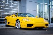 11K-Mile 2004 Ferrari 360 Spider 6-speed Manual