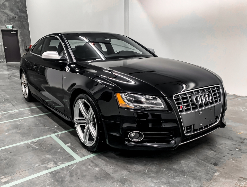 DT: 2010 Audi B8 S5 Coupe 6-Speed