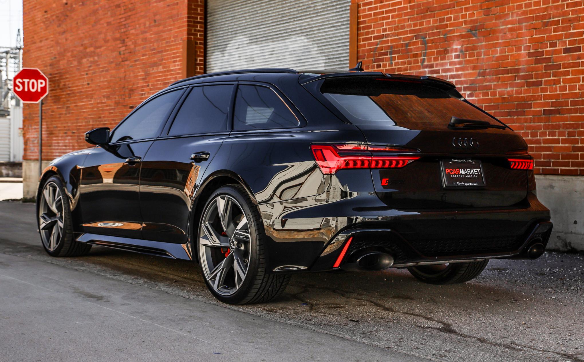 Dt 140 Mile 2021 Audi Rs6 Avant Pcarmarket