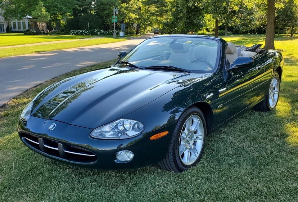 19K-Mile 2002 Jaguar XK8 Convertible