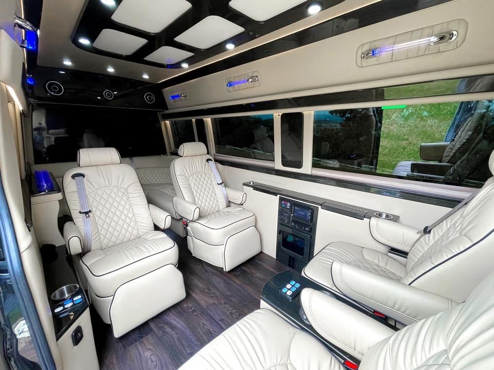 2017 Mercedes Sprinter 3500 Luxury Shuttle