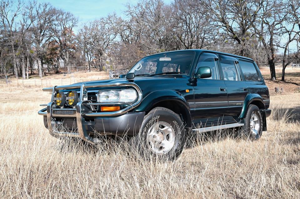 DT: 1995 Toyota Land Cruiser VX Limited Japanese-Market