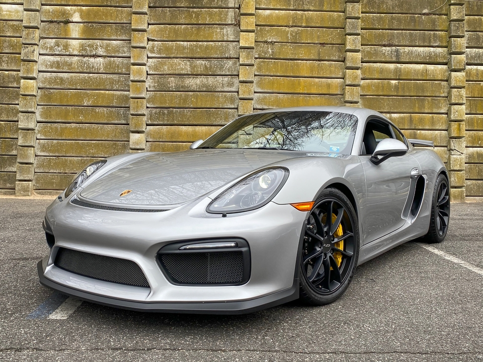 1K-Mile 2016 Porsche 981 Cayman GT4