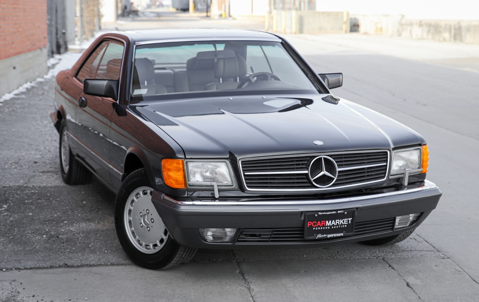 DT: 29K-Mile 1991 Mercedes-Benz 560SEC