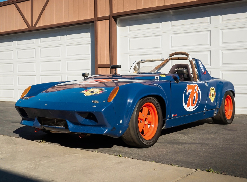 DT: 1970 Porsche 914-6 Supertec 2.5L Race Car