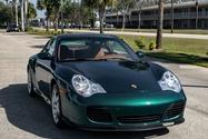 14K-Mile 2001 Porsche 996 Turbo Rainforest Green Metallic