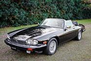 29K-Mile 1990 Jaguar XJS V12 Convertible Zymol Show Car
