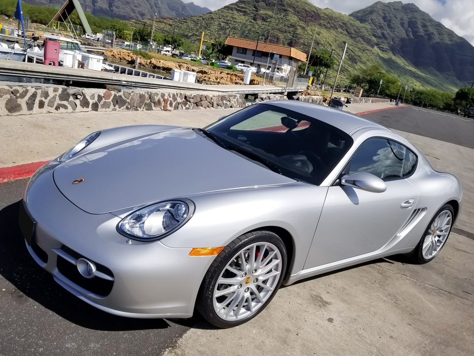 15k-Mile 2008 Porsche 987 Cayman S 6-Speed