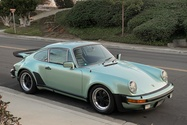 1977 Porsche 930 3.6L G50 Ice Green Metallic