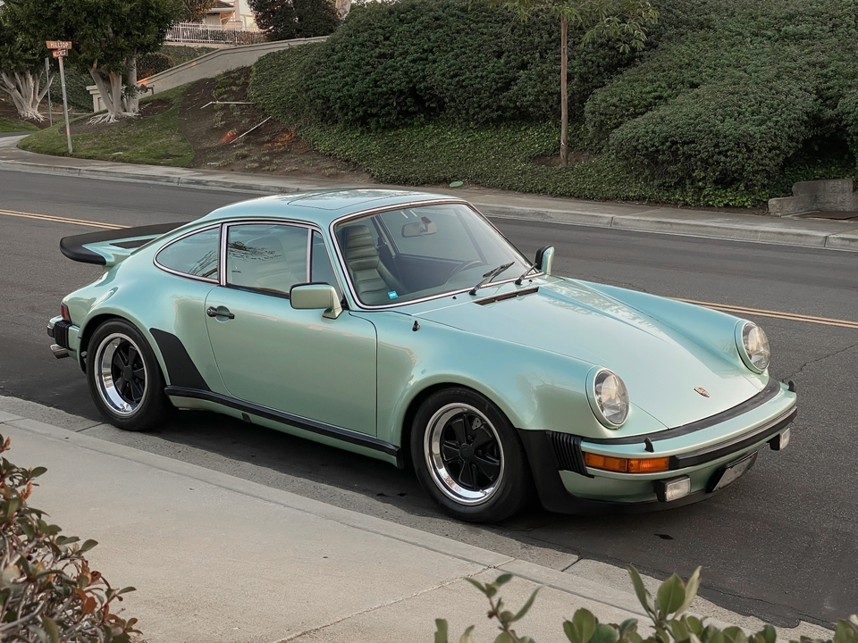 1977 Porsche 930 3.6L G50 Ice Green Metallic