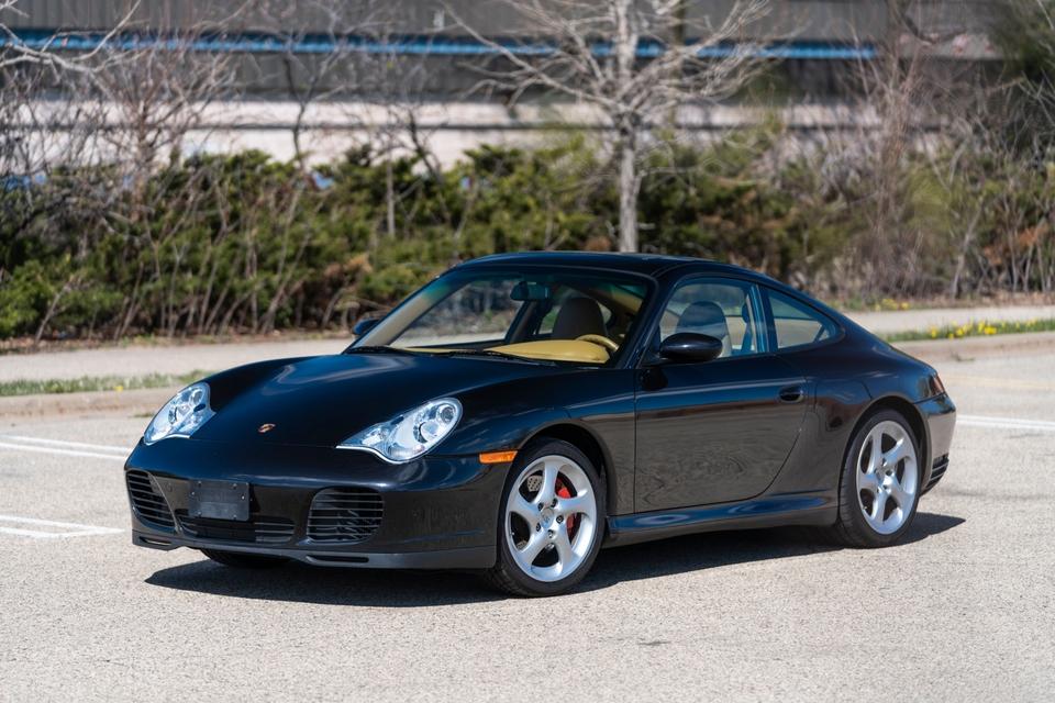 One-Owner 2002 Porsche 996 Carrera 4S 6-Speed