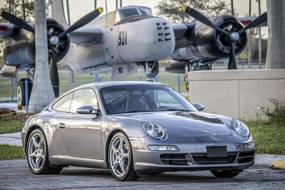 39K-Mile 2005 Porsche 997 Carrera S 6-Speed