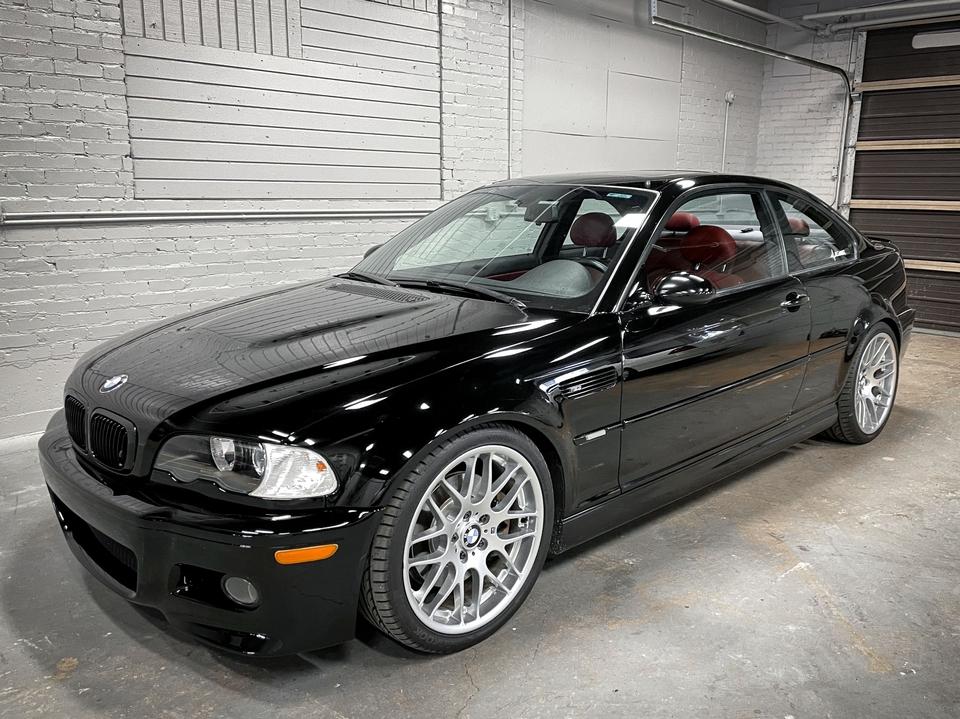 2004 BMW E46 M3 Coupe 6-speed