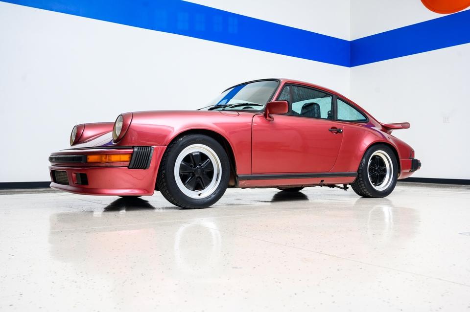 1981 Porsche 911 SC Coupe Wine Red Metallic