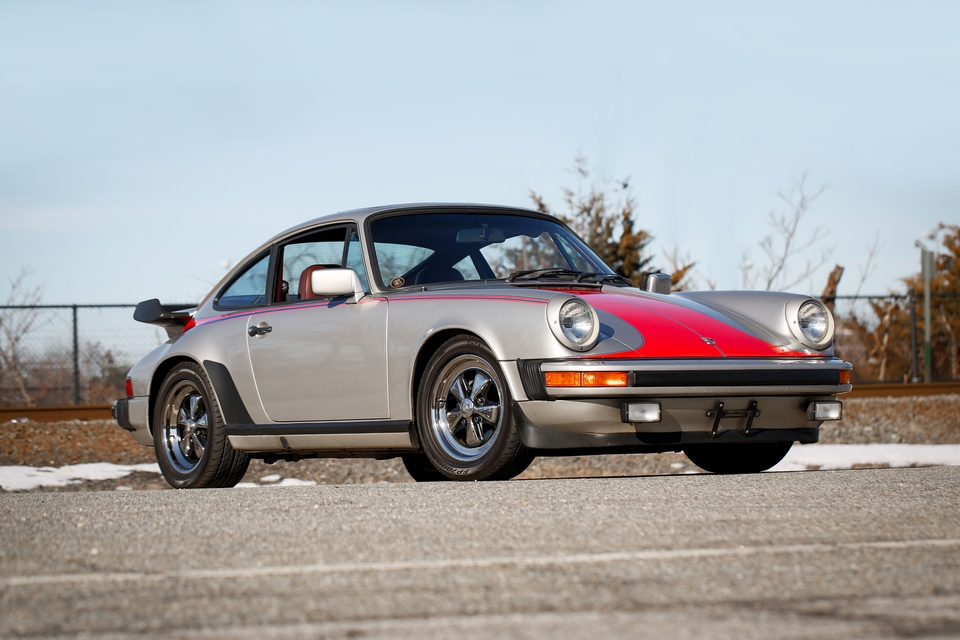 50K-Mile 1983 Porsche 911SC 5-Speed