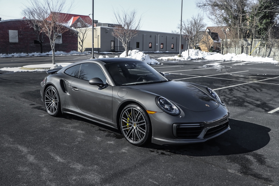 6k-Mile 2017 Porsche 991.2 Turbo S Coupe