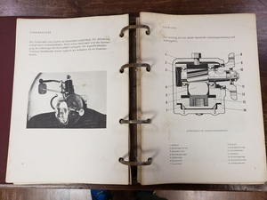 1967 Porsche Type 910 Operating Manual