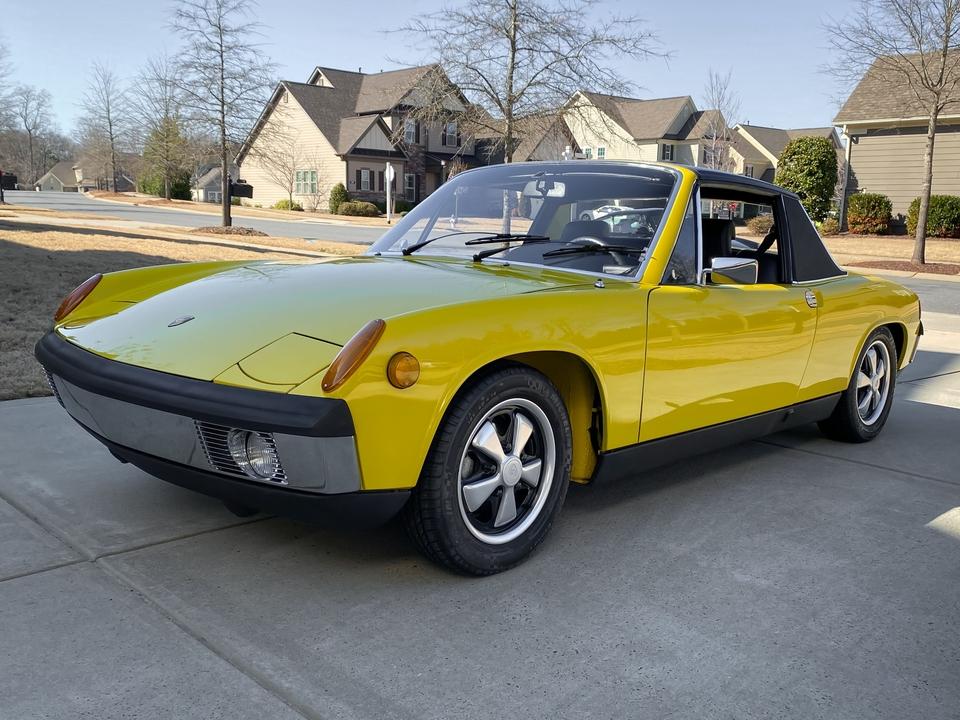 1970 Porsche 914-6 Canary Yellow