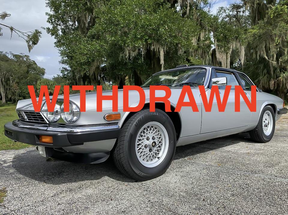 WITHDRAWN 24k-Mile 1987 Jaguar XJ-SC Targa V12